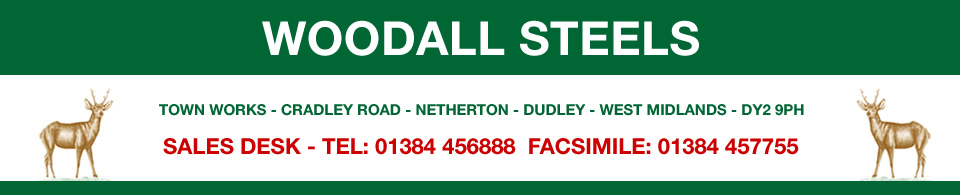 Woodall Steels - West Midlands Specialist Steel Stockholders